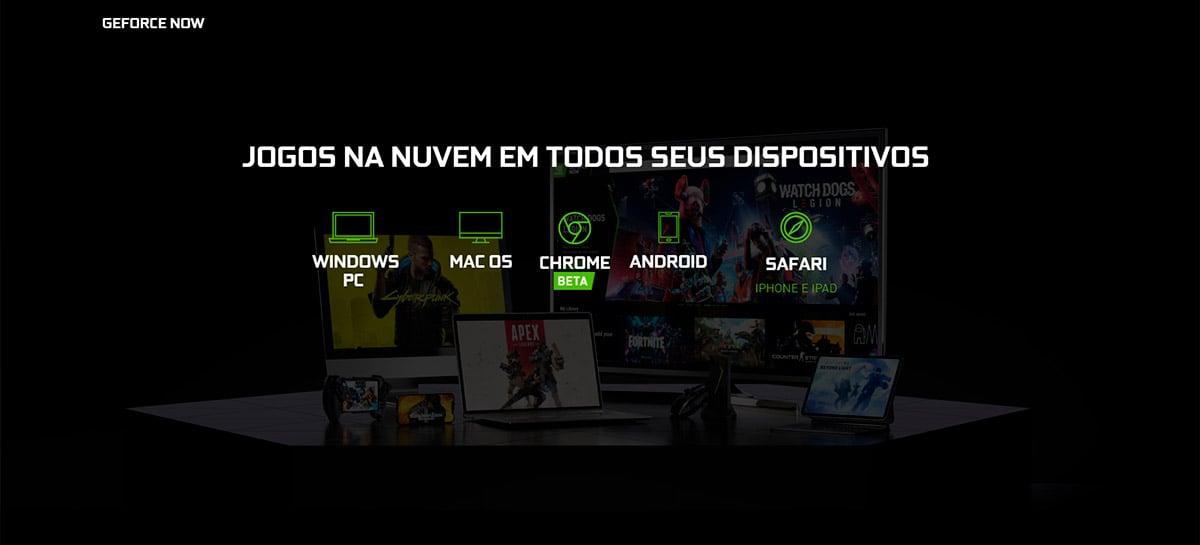 Streaming de games Nvidia GeForce Now chega ao Brasil em breve com plano grátis