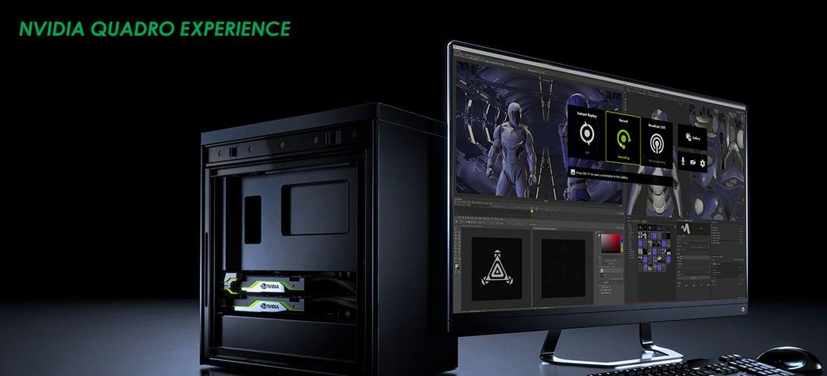 NVIDIA Quadro Experience chega como complemento para as GPUs da linha Quadro