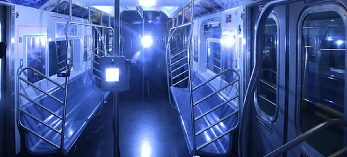 Nova York testará luz ultravioleta para matar Coronavírus em metrôs e ônibus