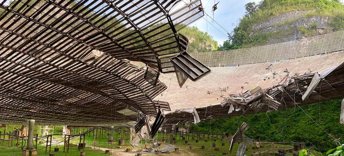 Observatório de Arecibo, maior telescópio fixo do mundo, será desativado