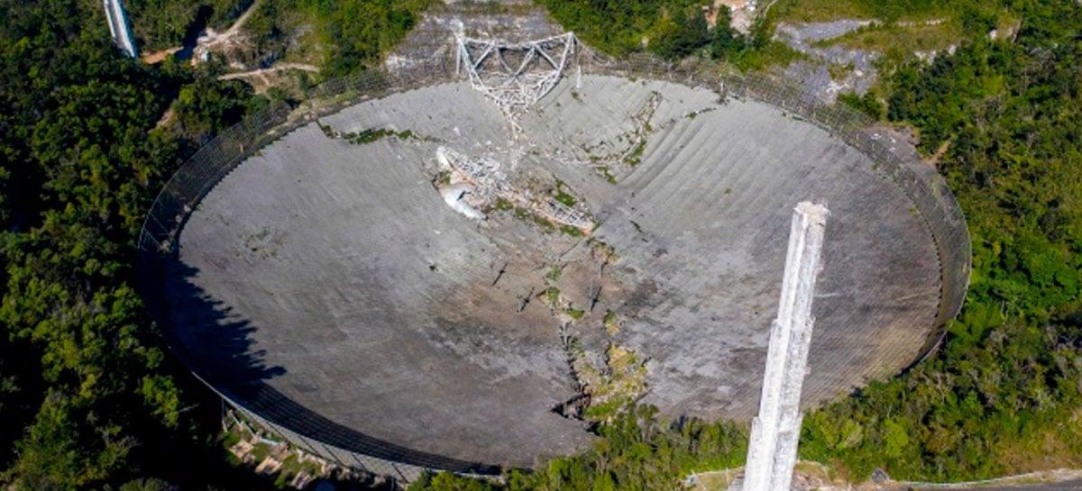 Porto Rico investe US$ 8 milhões para a reconstrução do Observatório de Arecibo