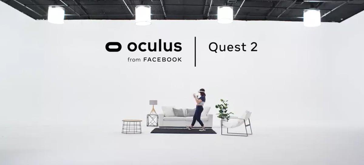 Oculus Quest 2 é revelado em vídeos vazados pelo Facebook