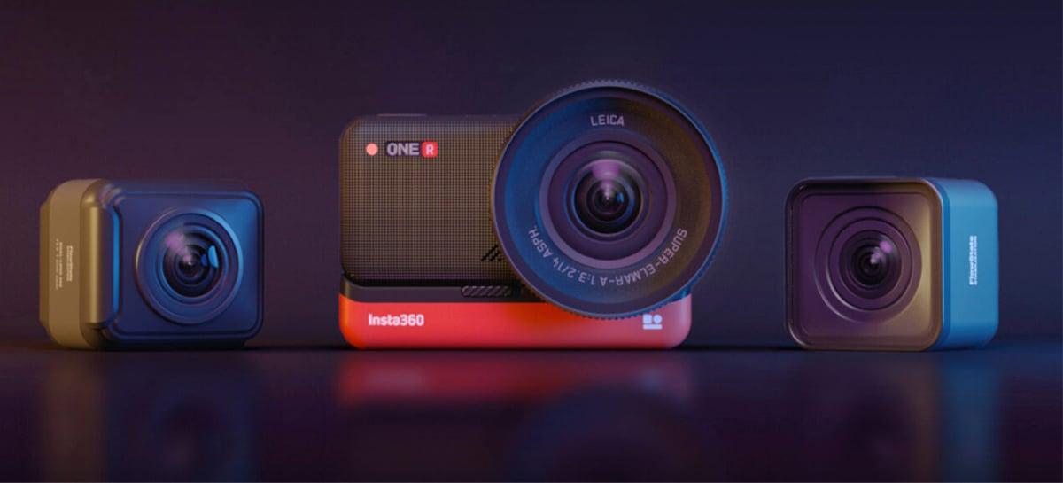 Câmera Insta360 ONE R traz diversas atualizações para captura de imagens incríveis