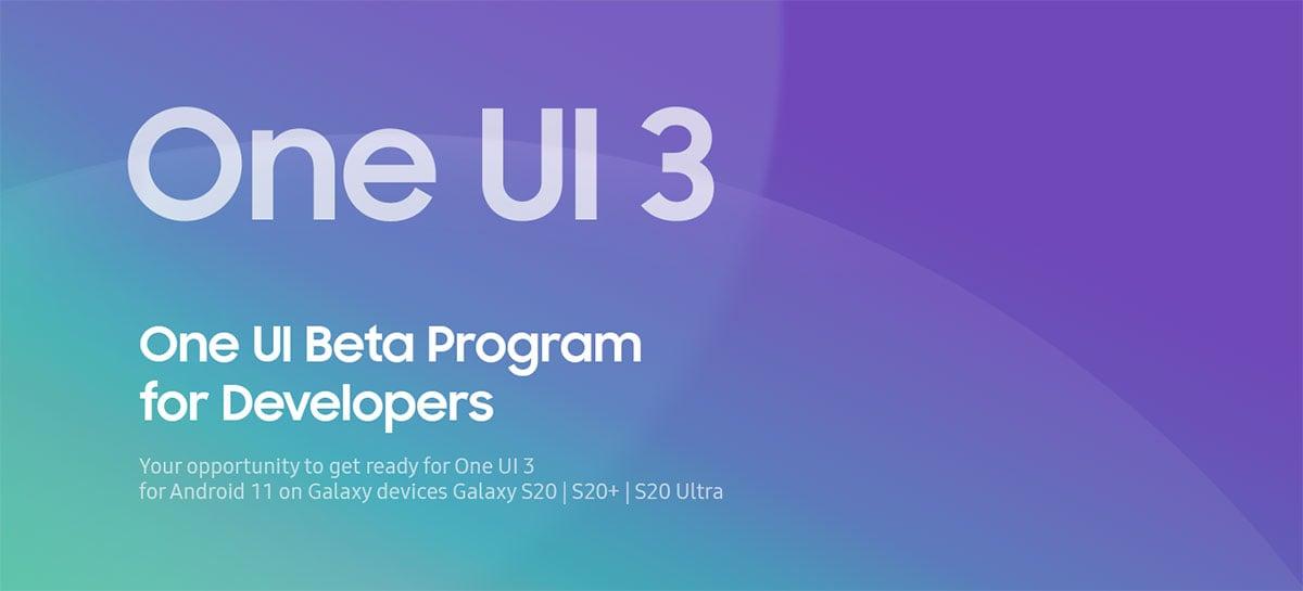 Samsung lança beta da One UI 3.0 para linha Galaxy S20