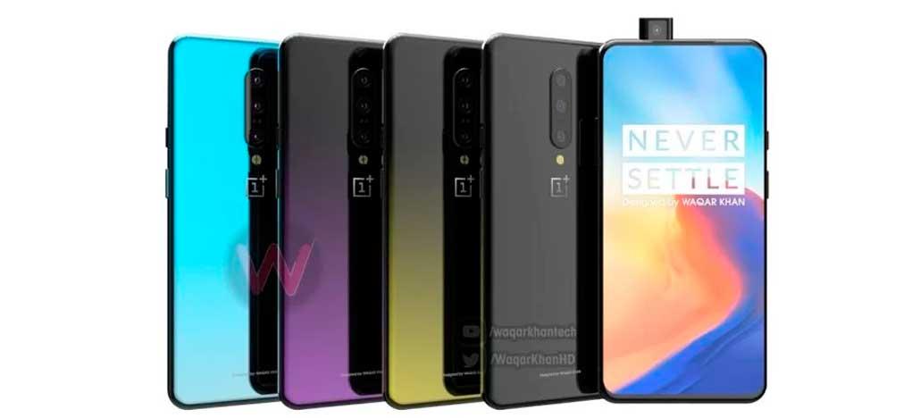 Vídeo com o design completo do OnePlus 7 é produzido com base nos vazamentos