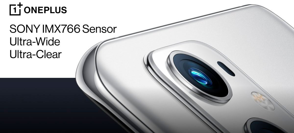 Oficial: OnePlus 9 terá câmera de 50MP Sony IMX766 ultrawide