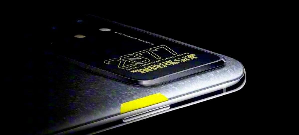 Desmontagem do OnePlus 8T Cyberpunk 2077 Edition mostra mais detalhes do aparelho