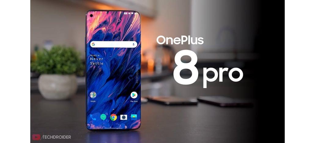 OnePlus 8 Pro pode vir com Snapdragon 865 e tela com taxa de atualização de 120Hz