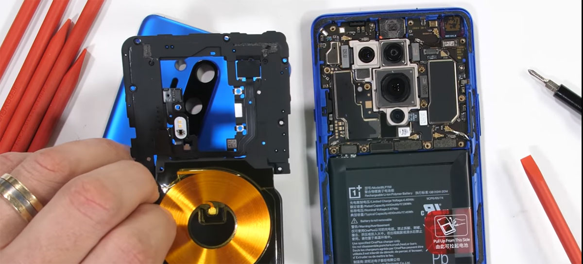 Veja o OnepPlus 8 Pro sendo desmontado completamente em vídeo
