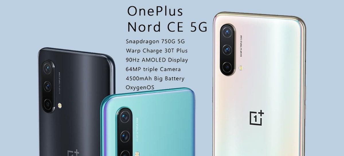 Novo OnePlus NORD CE 5G com Snapdragon 750G está em promoção por US$309