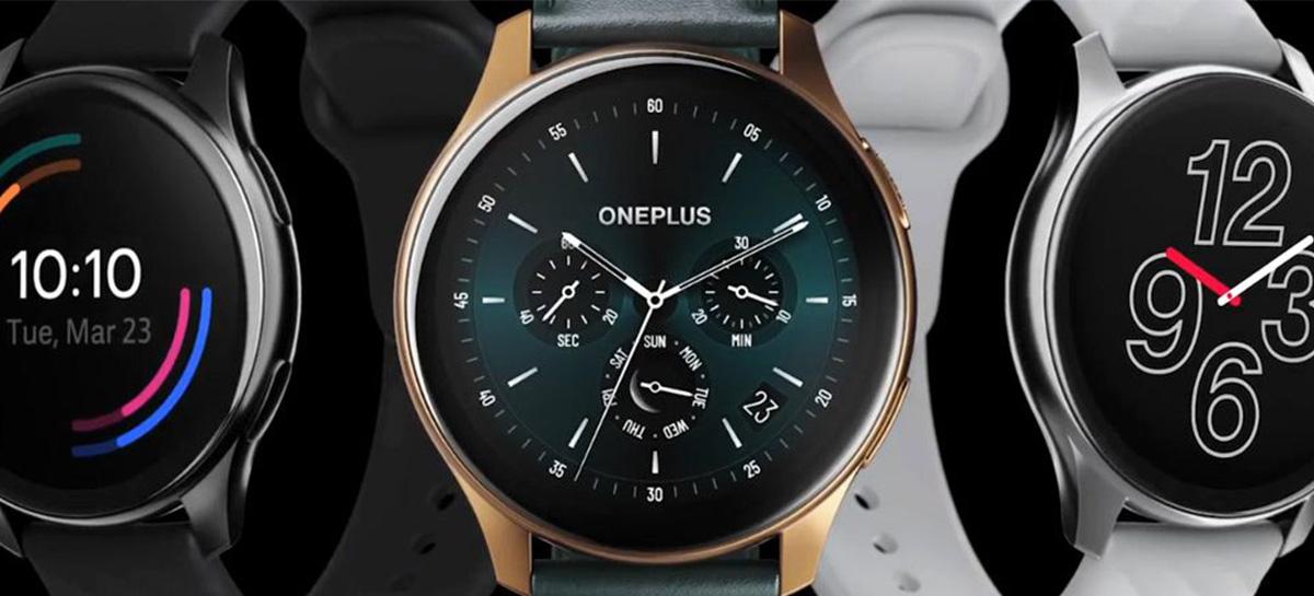 OnePlus anuncia OnePlus Watch que promete até duas semanas de bateria