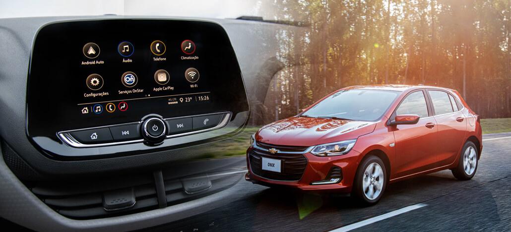 Novo Onix Hatch traz Wi-Fi nativo, AC digital e várias tecnologias conectadas