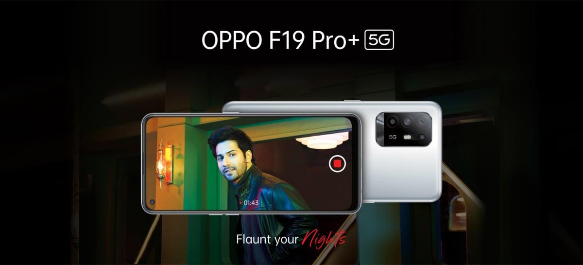 OPPO F19 Pro+ chega com chip MediaTek Dimensity 800U e carregamento de 50W