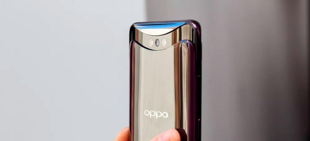 Oppo Find X é o mais novo smartphone a esconder a câmera para se livrar do notch
