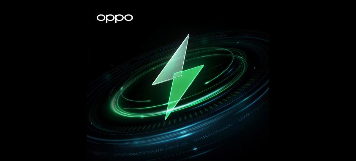 Oppo mostra suas tecnologias para o futuro do carregamento rápido