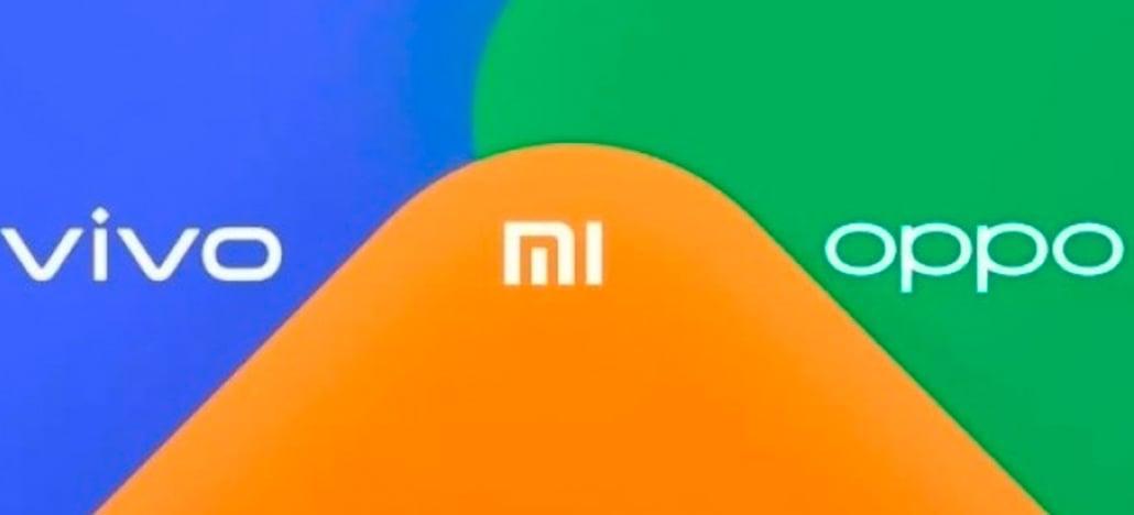 Xiaomi, Oppo e Vivo estão trabalhando em um sistema de transferência de arquivos