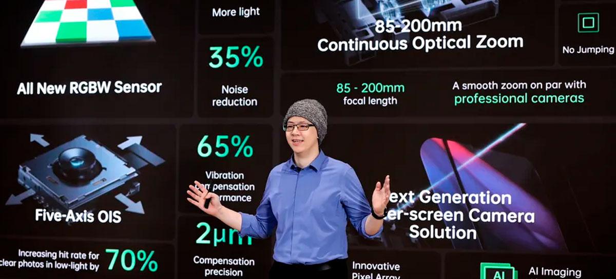 Oppo apresenta lente com zoom contínuo para smartphones