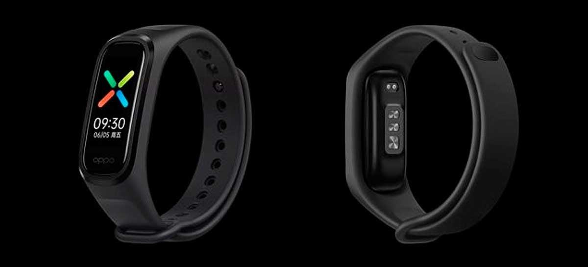 Oppo lança nova smart band para monitorar exercícios e saúde
