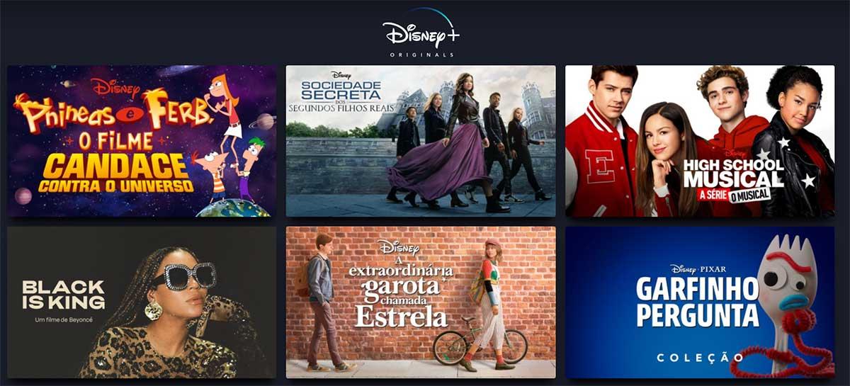Exclusivos do Disney+ que você não sabia que existiam