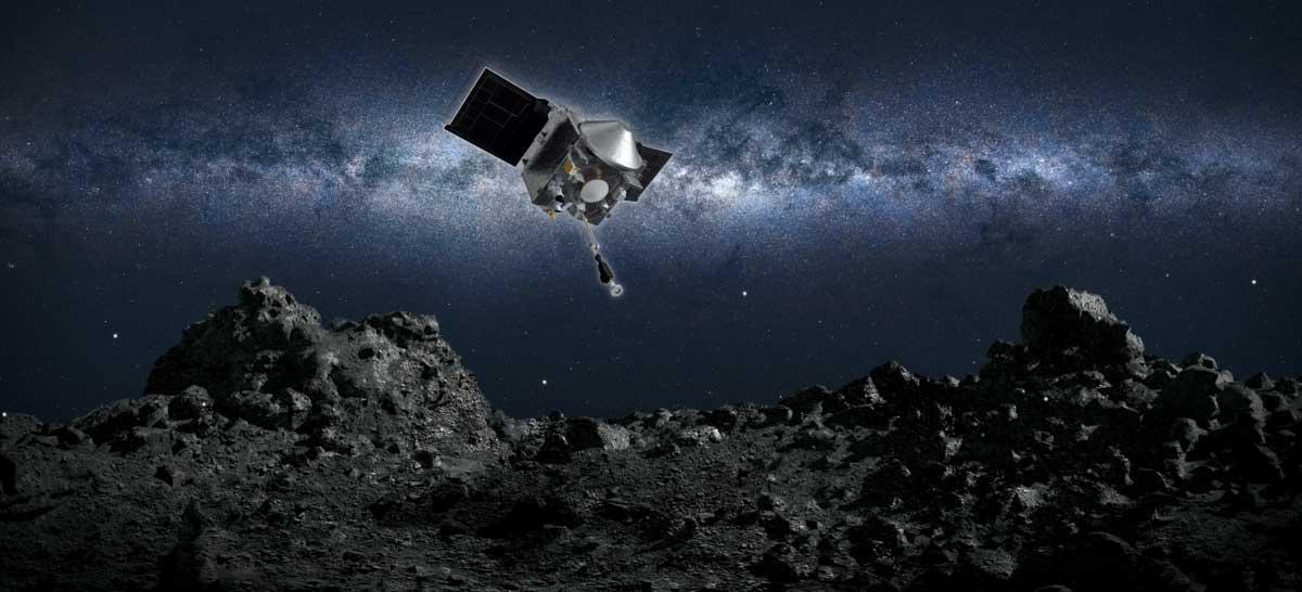NASA vai transmitir ao VIVO missão OSIRIS-REx coletando de amostra de asteroide