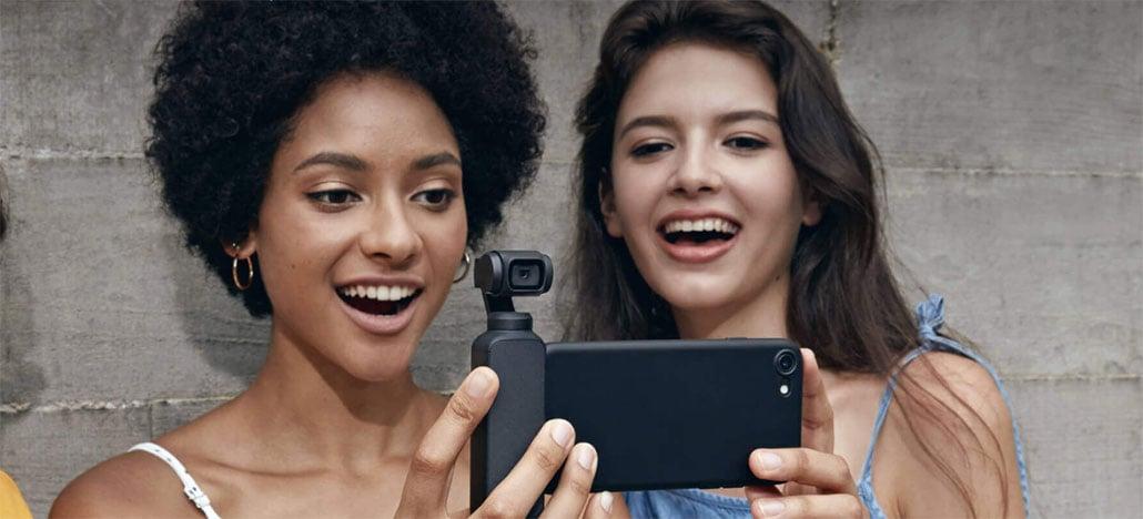 Osmo Pocket ganha update de firmware v1.3.0.20 com novas configurações e recursos