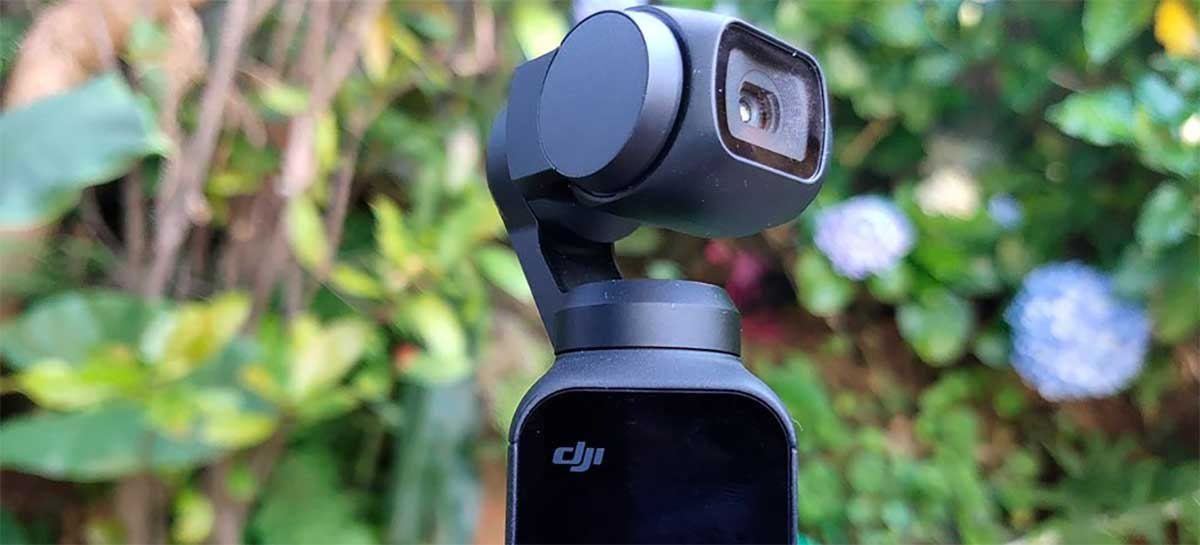 Gimbal com câmera DJI Osmo Pocket 2 deve ser lançado dia 20 de outubro