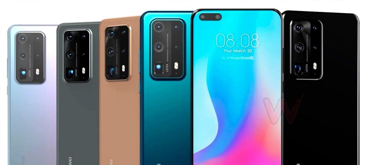 Huawei P40 e P40 Pro à venda na China bem mais baratos que no lançamento