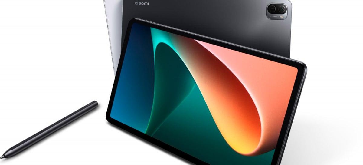 Versão global do tablet Xiaomi Mi Pad 5 é confirmada por 349 euros