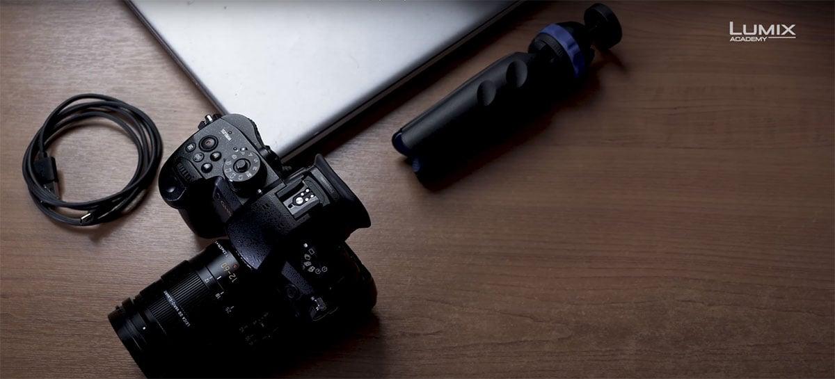 Panasonic vai facilitar uso de câmeras mirrorless como webcams