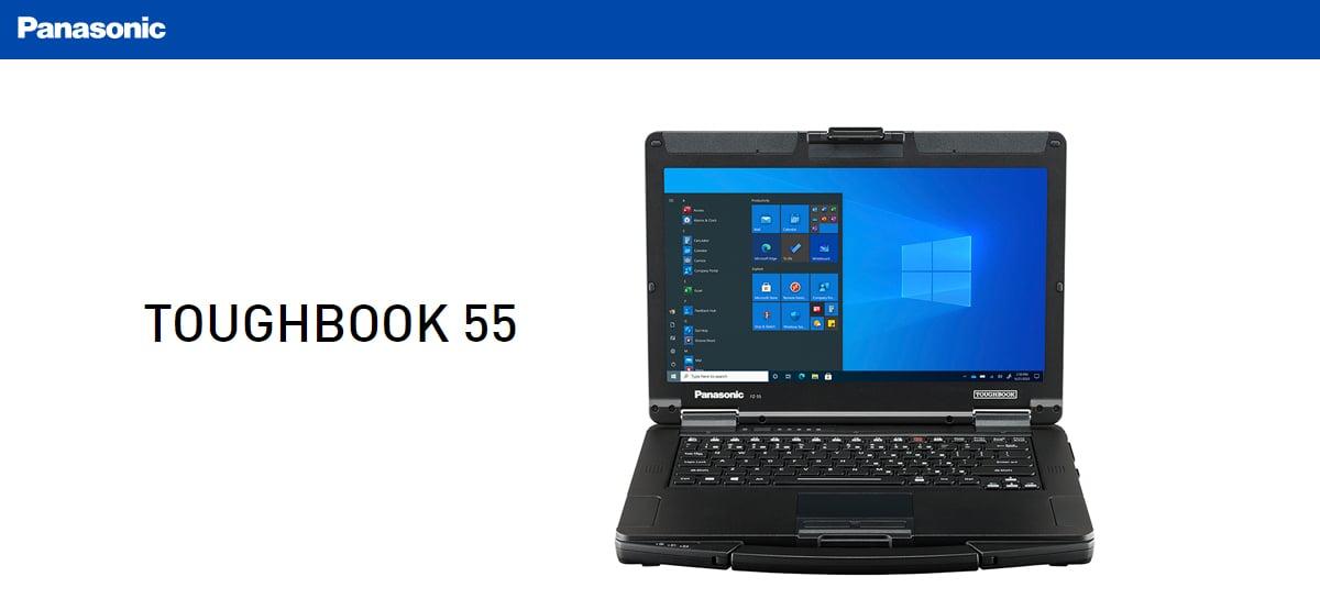 TOUGHBOOK 55: Panasonic revela notebook modular com corpo resistente