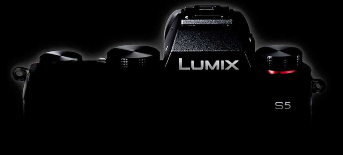 Panasonic vai lançar sua câmera mirrorless Lumix S5 em 2 de setembro