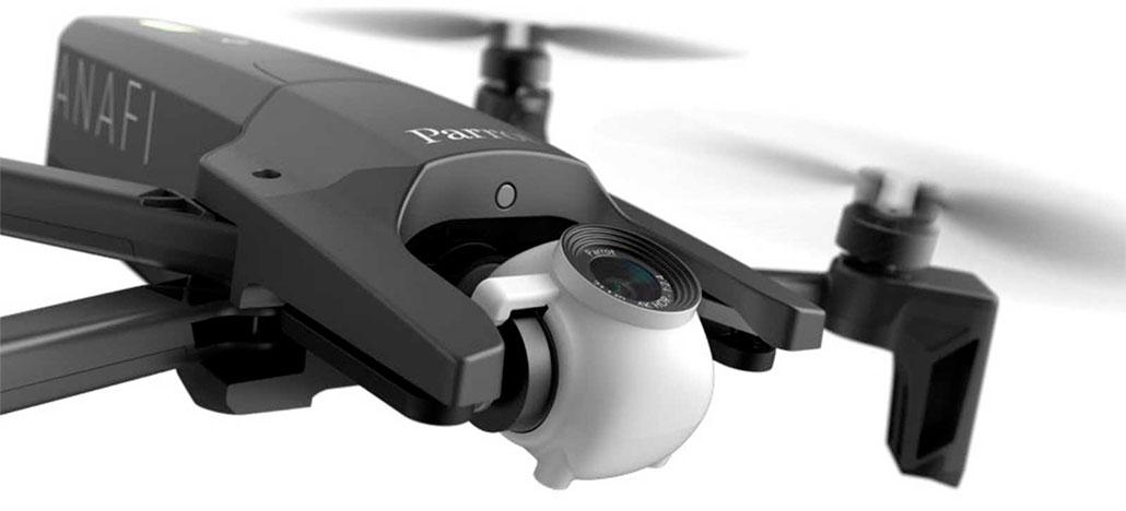 Novo drone Anafi da Parrot filma em 4K HDR e oferece até 25 minutos de voo