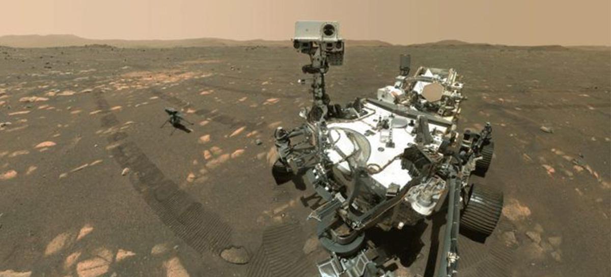 Rover Perseverance da NASA compartilha primeira selfie em Marte - Veja vídeo exemplificando processo