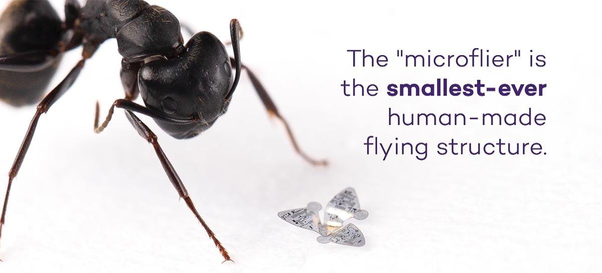Pesquisadores criam tecnologia para enxame de microchips voadores