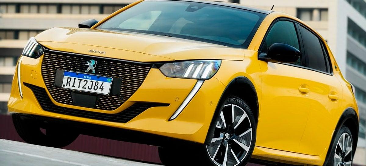 Peugeot anuncia carro elétrico e208 GT no Brasil por R$ 245 mil