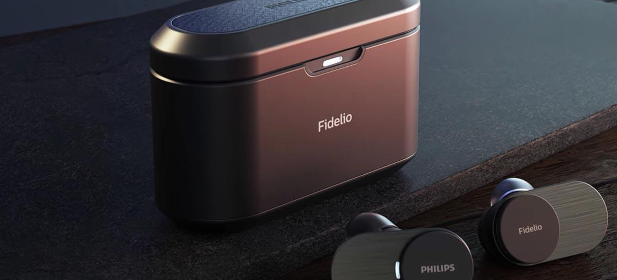 Philips lança fones de ouvido Fidelio T1: bateria de 35h e suporte ao codec LDAC