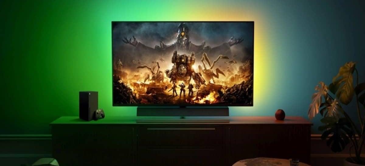 Philips anuncia Momentum, primeiro monitor do mundo feito pro Xbox