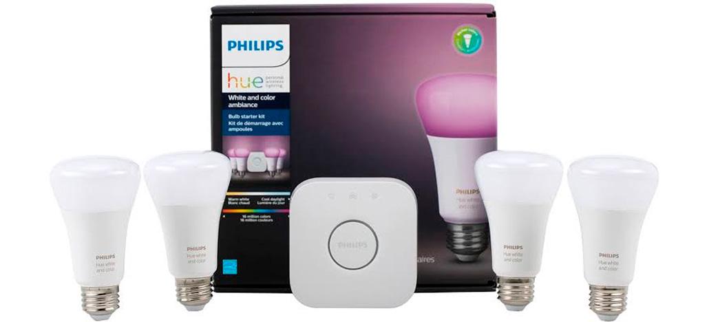 Portfólio de lâmpadas Philips Hue começam a ser vendido oficialmente no Brasil