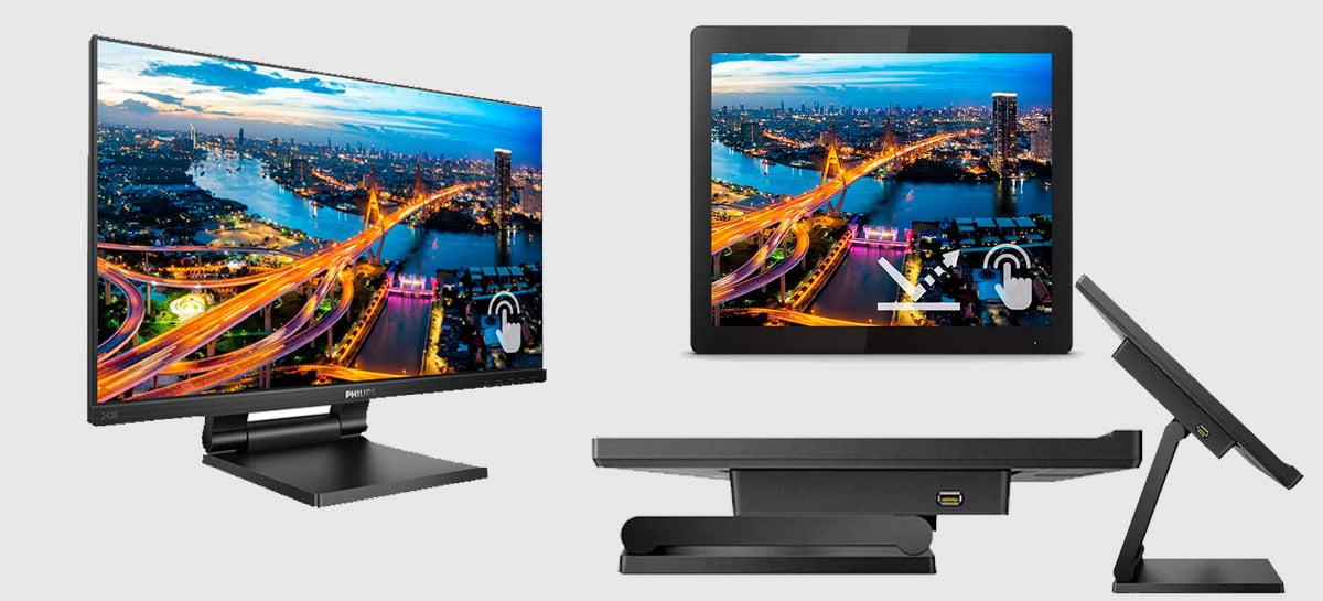 Philips anuncia monitores  B1TFL e B1TC touch-frame ATI