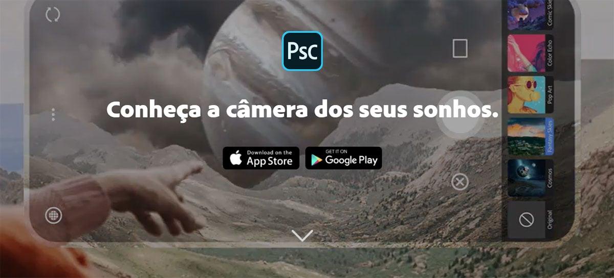 Adobe lança aplicativo Photoshop Camera para iOS e Android - veja se você pode usar