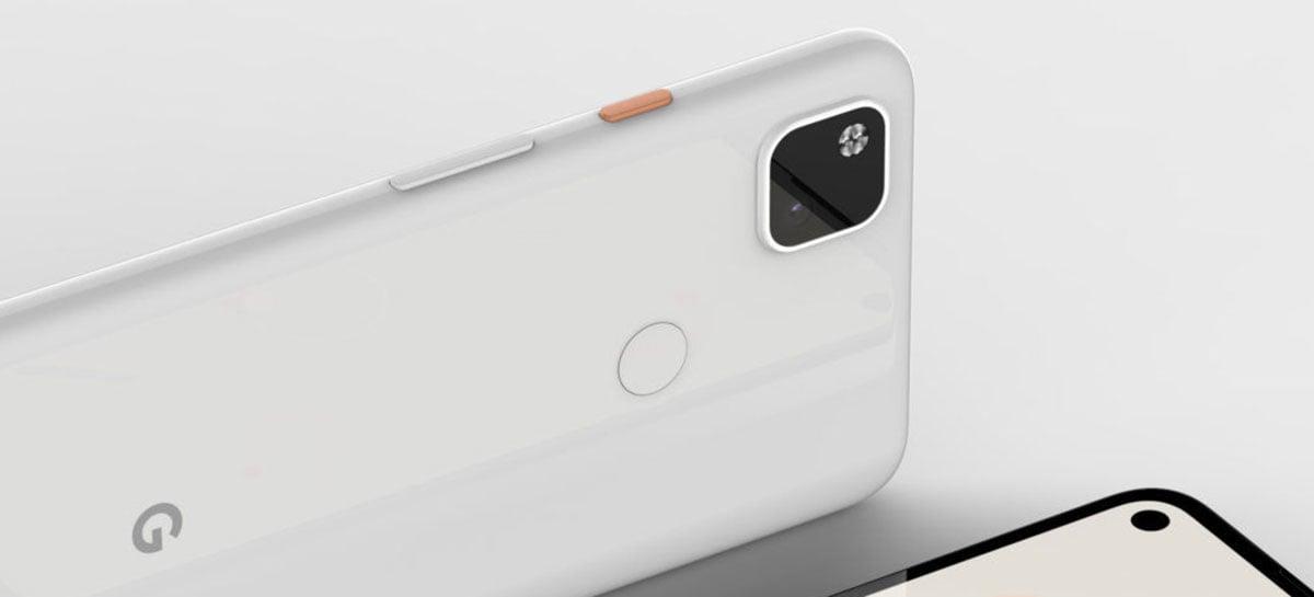 Google Pixel 4a deverá vir com câmera no estilo