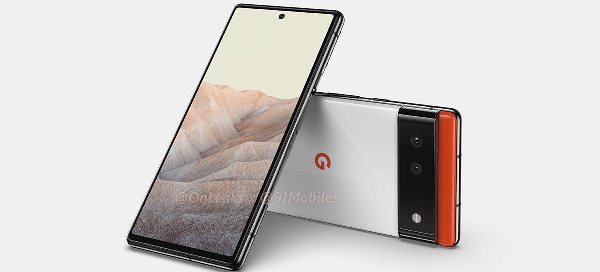 Pixel 6 e Pixel 6 Pro serão os smartphones mais potentes lançados pela Google