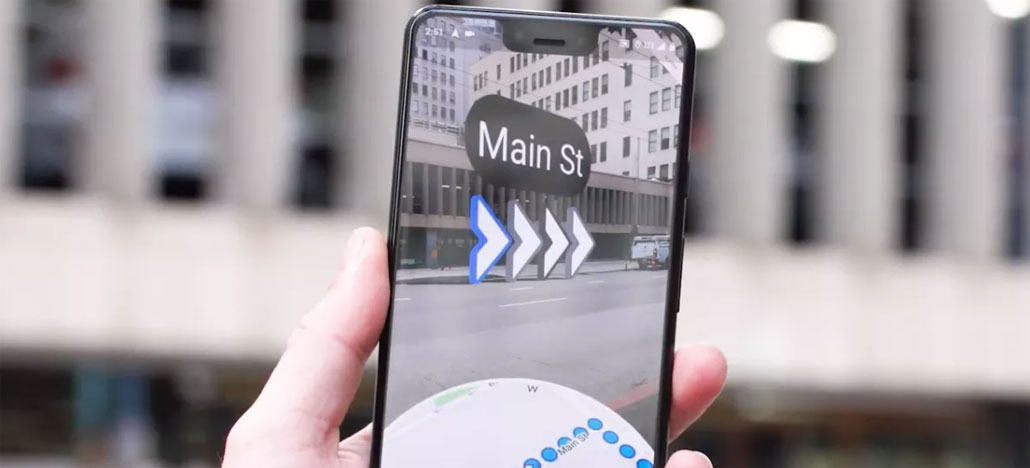 Google Maps em realidade aumentada já está disponível para smartphones Pixel