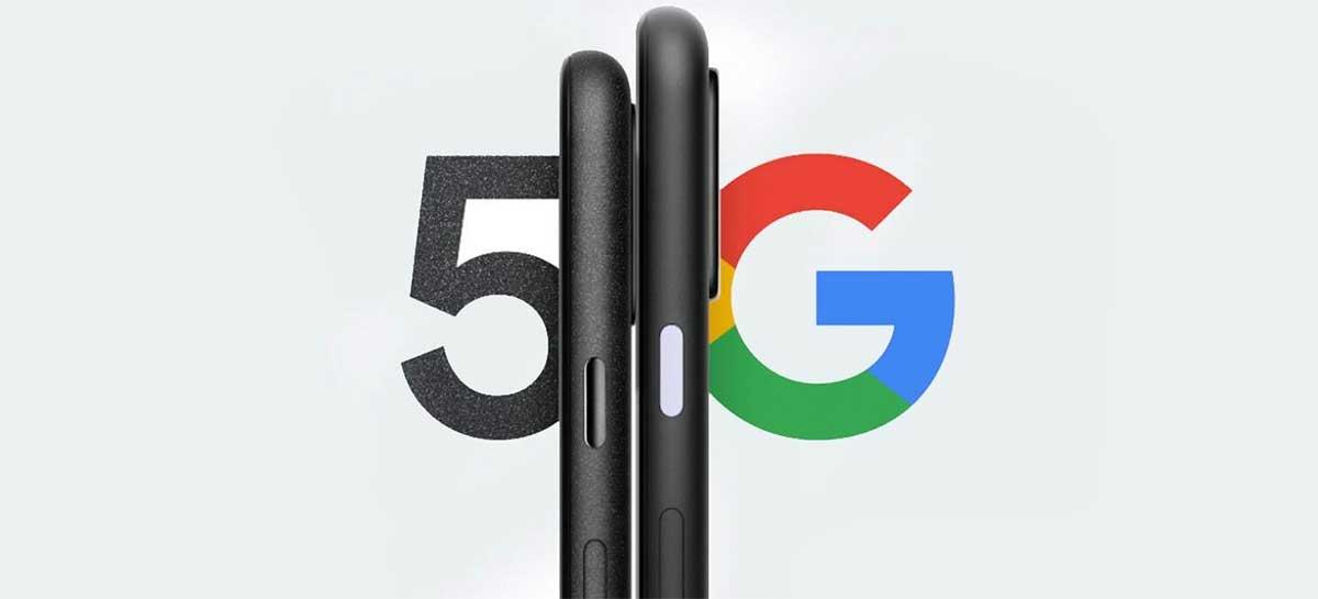 Google Pixel 5 e 4a 5G tem lançamento previsto para 30 de setembro