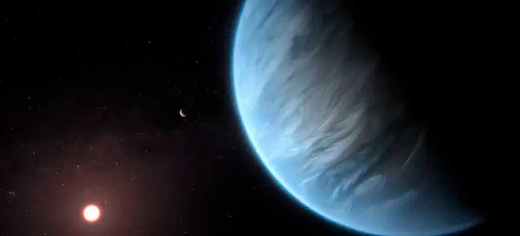 Cientistas encontram água em planeta potencialmente habitável