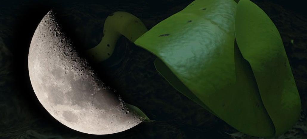 China consegue desenvolver a primeira planta no lado escuro da Lua