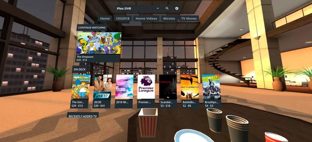 Gear VR recebe o aplicativo Plex, que permite ver filmes em ambiente de realidade virtual