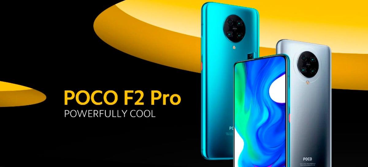 POCO F2 Pro de alto desempenho em promoção por US$ 379! Snapdragon 865 e 4 câmeras!