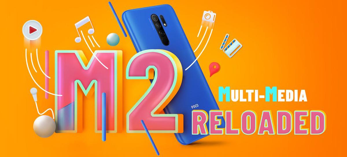 POCO M2 Reloaded será lançado no dia 21 de abril