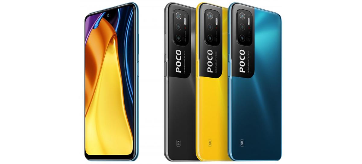 POCO M3 Pro 5G terá tela de 90Hz, bateria de 5.000mAh e chip Dimensity 700